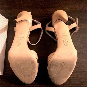 SJP by Sarah Jessica Parker Shoes - SJP 'Anna' Sandal - Nude Leather Heel